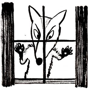 Wolf at the Window ©BridgetMarzo